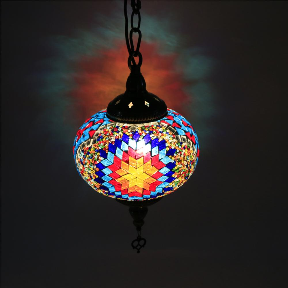 CC1L01 2018 NEW Turkey lamps Handicraft decorative glass pendant <strong>light</strong>