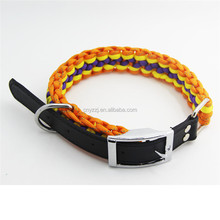 2017 Designer Cheap Blank Dog Collars Leashes Personalized for Puppy