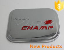 Trade supplier selling Toyota Pickup Hilux vigo champ 2012/2013/2014 fuel tank cover cap with red label chromed kits toyota