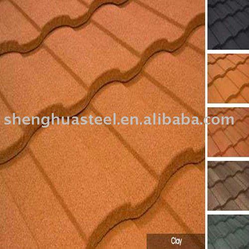never fade Vermiculite watts roof tile