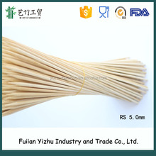 5mm *90 cm round wooden /bamboo 36 inch skewer bbq stick