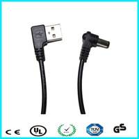 Low price 22 awg usb to dc charging cable