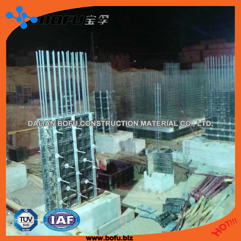 plastic forms for construction without oil best quality column formwork delivery by <strong>rail</strong>