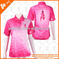 2013 High Quality beautiful Dry fit polo shirt and T-shirt