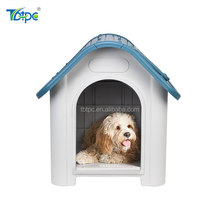 Medium Plastic Dog House Pet Shelter for Outdoor Kennel