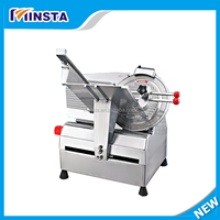 Wholesale factory price stainless steel meat slicer pork/beef mutton bacon cutting machine