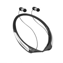 Sports stereo wireless bluetooth headset wear neck-hanging handset