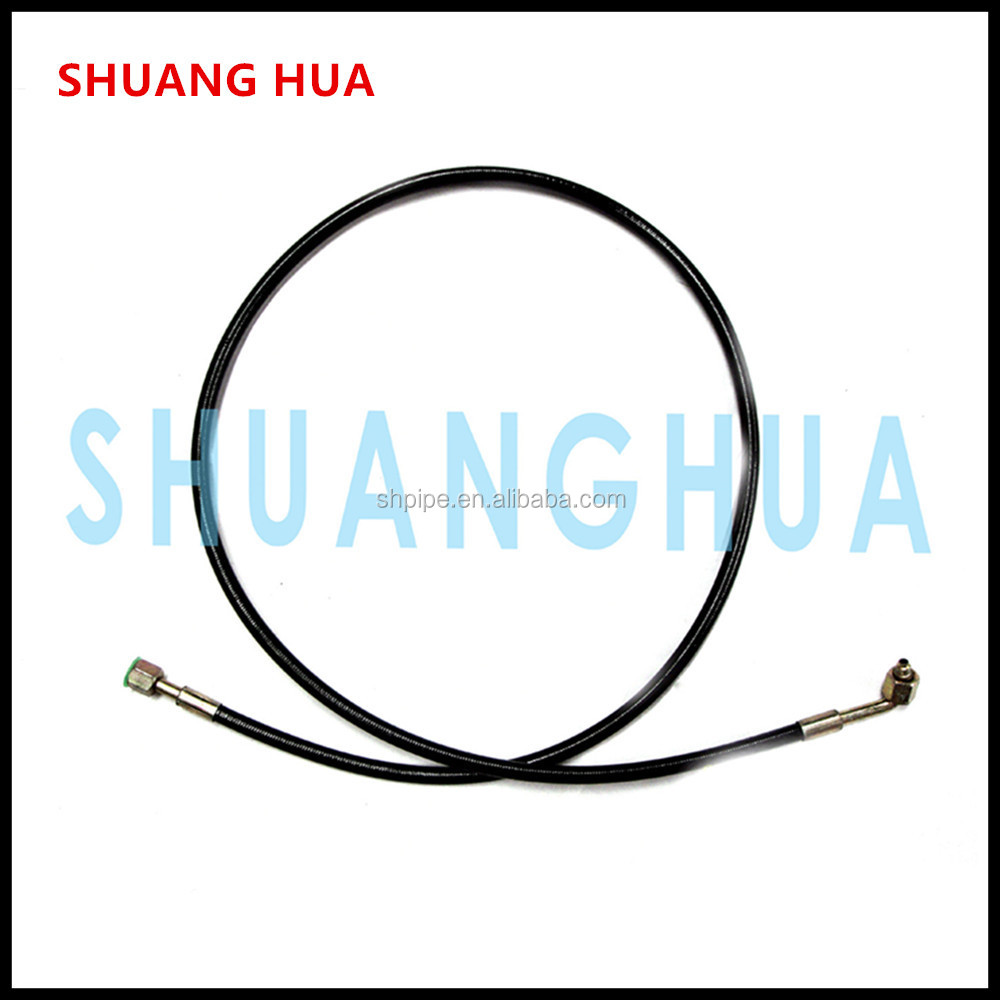 Formed fuel line for car fuel delivery oil pipe