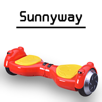 electric balance scooter cool hoverboard moped hands free for kids for sport funny