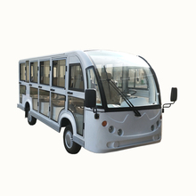 CE certification14 passager electric resort car /sightseeing bus/tourist electric car with door used scenic arear