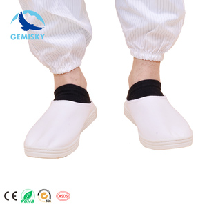 Wear proof Antistatic PVC shoes without holes/ESD PVC shoes