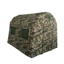 Small camouflage outdoor inflatable military tent for camping