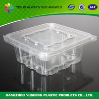 Factory directly sale disposable retail plastic food containers
