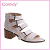 Alibaba wholesale hot sale high heel safety girls latest sandals