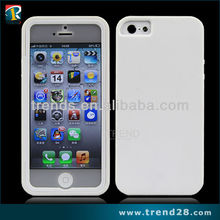 "New arrival 2013 TPU Gel Case with Screen Cover for iPhone 5"" original"