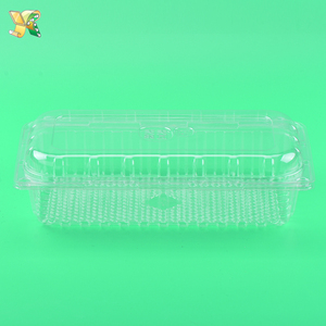 Wholesale disposable fruit salad container / plastic food container / plastic box with lid
