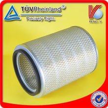 high efficiency industrial heavy duty air filter for toyota truck 2L 17801-35030, 17801-54070 engine parts