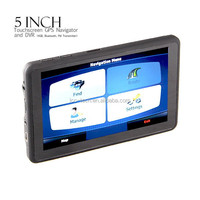 5 inch touch screen GPS Car DVR navigation with Camera recorder,Sat NAVi GPS