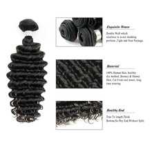 Factory Cheap Price 8A Hair Extension Human Virgin Brazilian deep wave hair weft