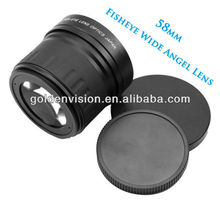 New Camera lens 58mm 0.21X Fisheye Lens for EF Rebel XS XSi T4i T3i T2i T1i XTi XT LF86