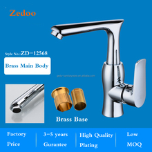 ZD-12568 Brass main body single handle kitchen sink mixer