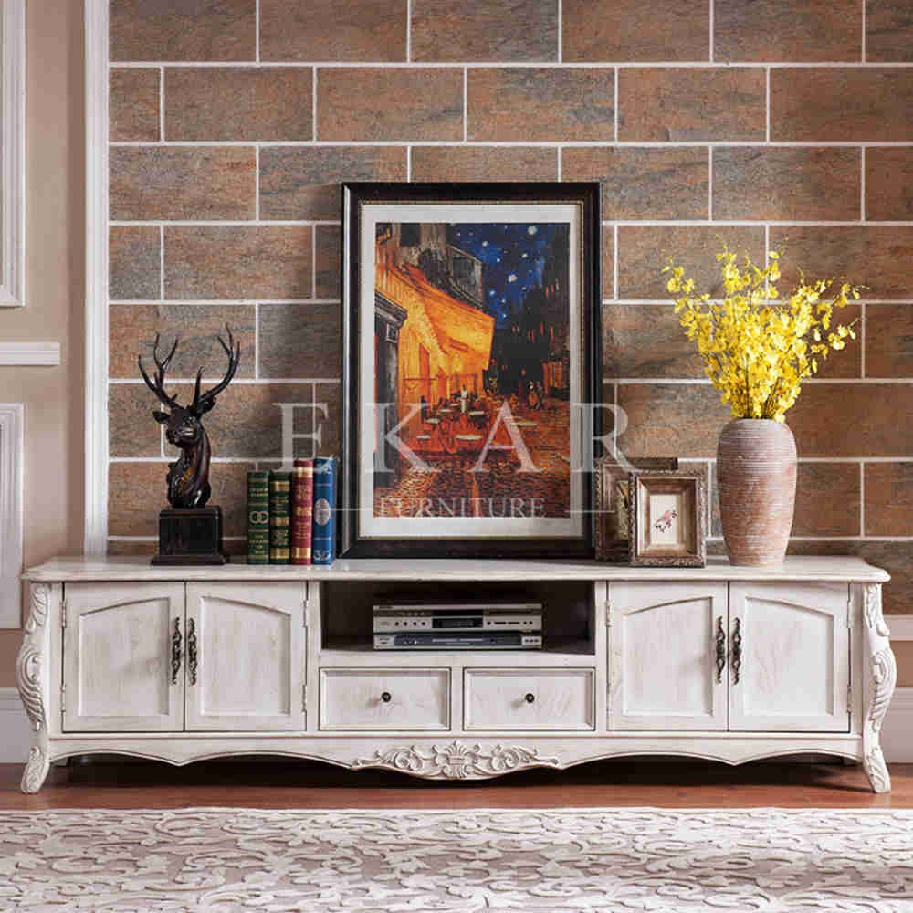 Furniture Design Wooden white antique styled furniture design wooden tv table - buy wooden