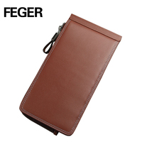 Original Design Hand Purse Men Wallet Leather With Multi Pocket
