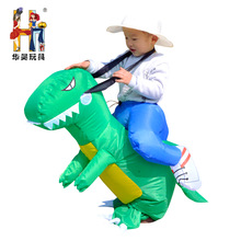 2017Wholesale factory direct sell inflatable funny mascot dinosaur costume for kids
