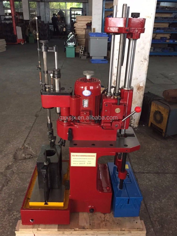 TM807A portable cylinder boring honing machine 480r/min 160 depth