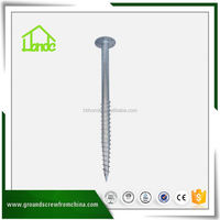 Portable Earth Screw Auger Ground Anchor