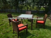 2015 dining sets outdoor furniture CF2107+2048AC