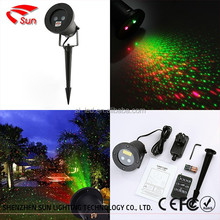 Outdoor Laser Christmas Light Projector with IR Wireless Remote, Red and Green Star Laser Show for Christmas, Holiday, Parties