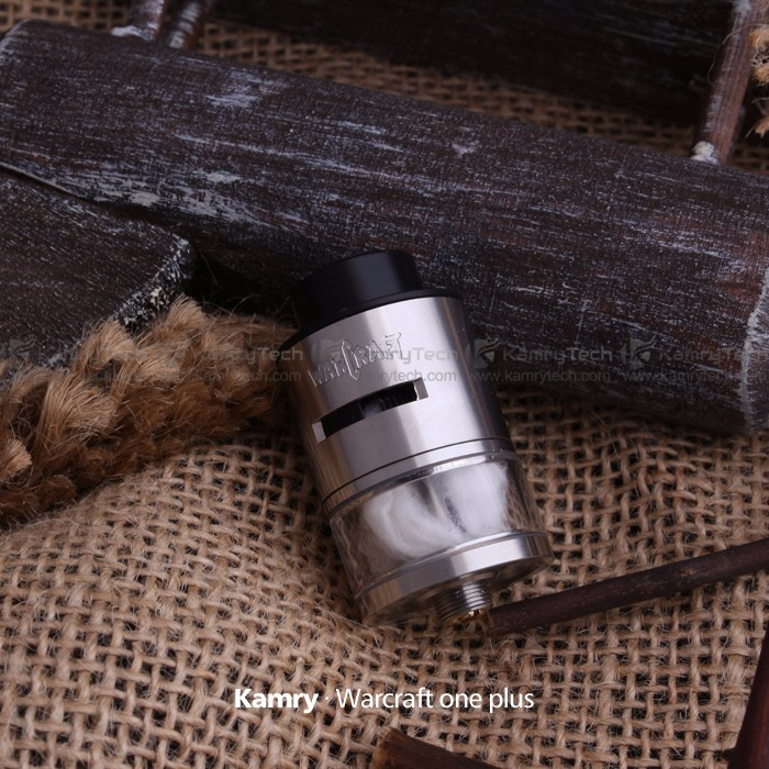Wide-bored Rebuildable atomizer RDTA kit 22mm kamry Warcraft 1.0 plus RDA / RDTA atomizer