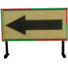 Outdoor Display Electric Road Variable Traffic Message Open LED Sign Board