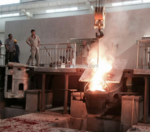 Medium Frequency 500KG Coreless Electric Induction Furnace for Melting Aluminium/Copper/Steel/Carbon Steel