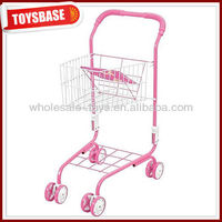 Kids metal shopping cart,kids toy