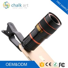 Professional telescope lens 8X Telephoto zoom with Long Focal Lens for smart mobile phone