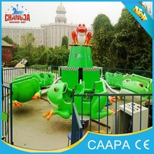 china rides manufacturer family rides frog jumping/bounce frog