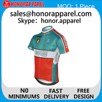 China Sublimation cool team specialized Pro cricket cycling jersey and bib shorts