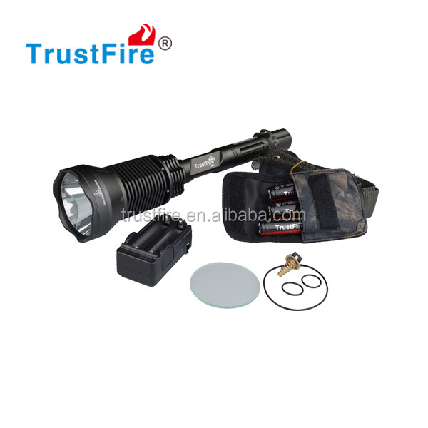 Customized flashlight 2300Lumens TrustFire X6 flashlight rechargeable SST-90 led flash light components