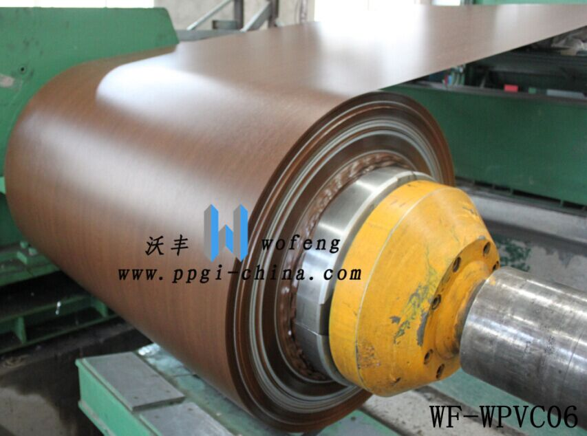 Wood/Marble/Flower laminated pvc sheet pvc coated steel sheet
