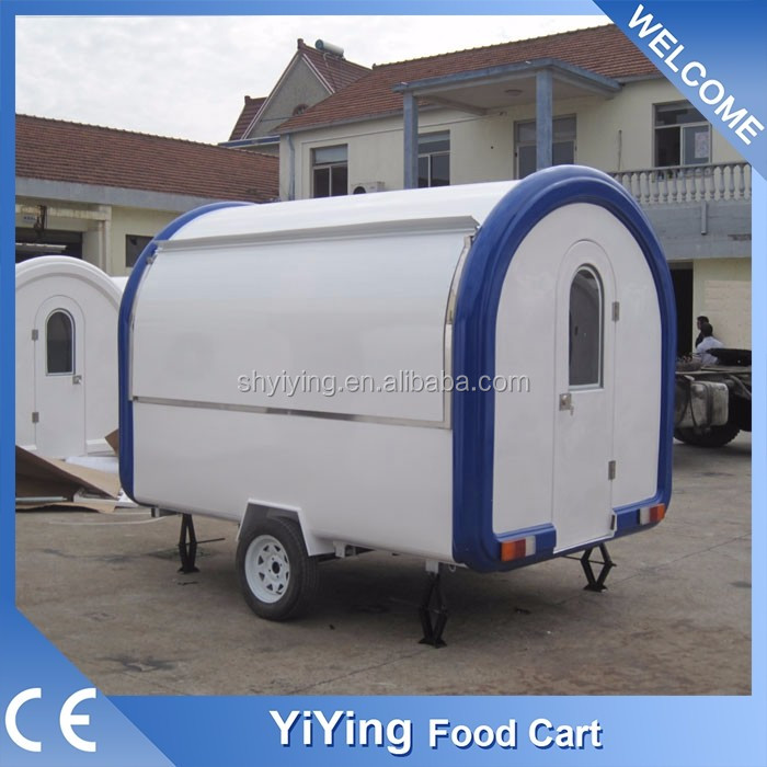 kiosk fast food trailer/mobile kiosk for food/fast food restaurant ordering kiosk machine from china
