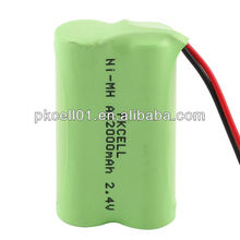 2.4 volt rechargeable battery pack