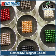 Colorful N52 Neodymium ball Magnet for sale