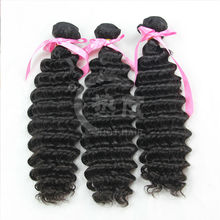 the noble hair,10% discount deep wave Indian ,virgin human extension