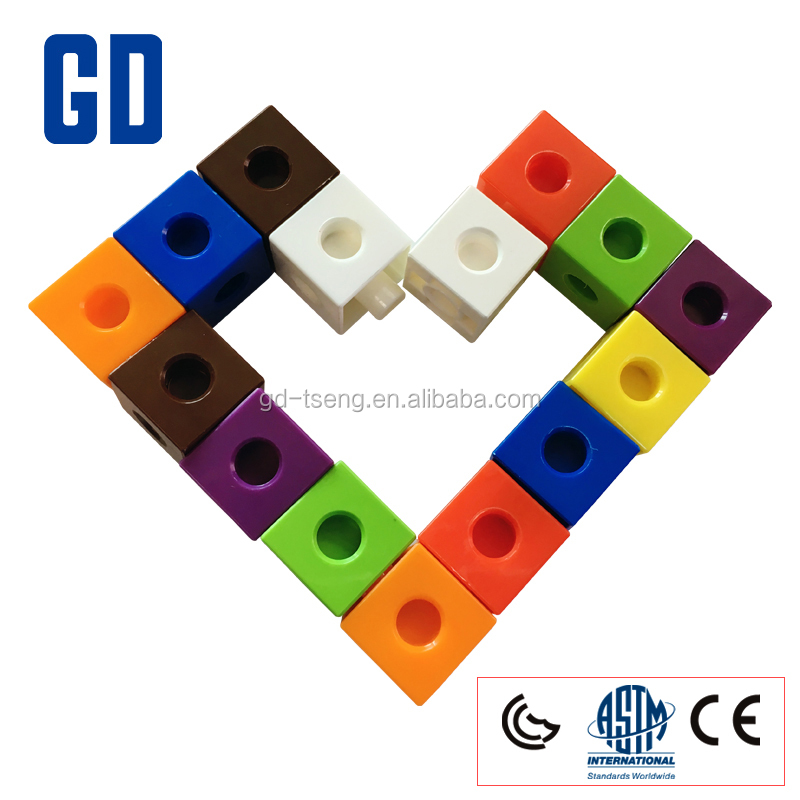 GD-2Cm Building block cube/linking cube/Funny than Lepin