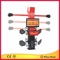 tire alignment coupon/car alignment machine for sale/four wheel laser alignment(SS-3D-3)