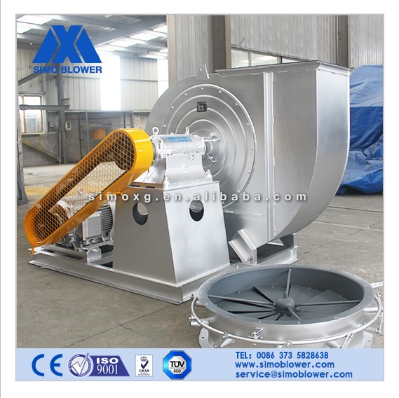 Heavy duty industrial dust filtration system stand centrifugal blower fan