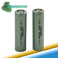 3.7V 3000mAh Li-ion18650 Battery for LED Flashlight