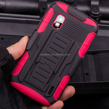 Belt Clip Holster Rugged Hybrid Hard Stand Case For Google LG Nexus 4 E960